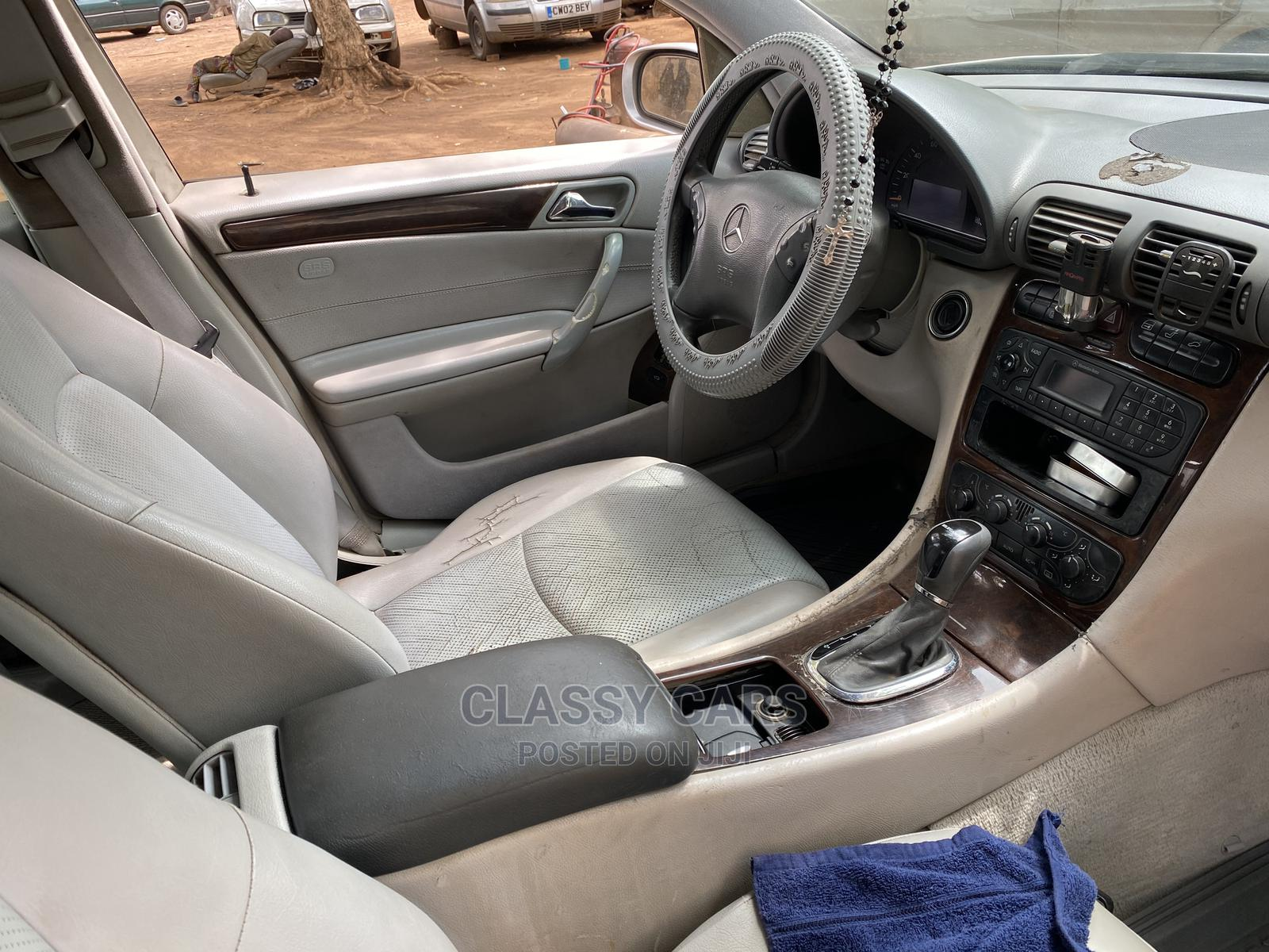 Mercedes-Benz C240 2003 Silver   Cars for sale in Ibadan, Oyo State, Nigeria