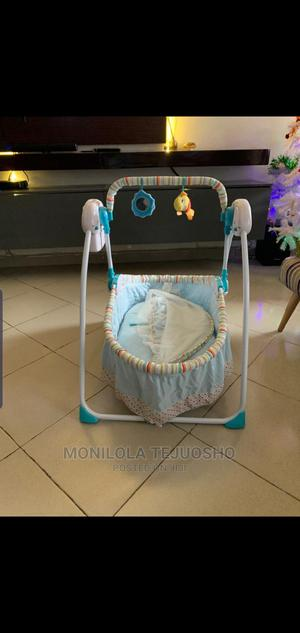 Electric Baby Crib Swing | Children's Gear & Safety for sale in Lagos State, Ojodu