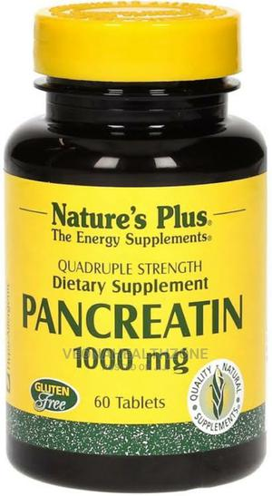 Nature's Plus Pancreatin 1000mg | Vitamins & Supplements for sale in Lagos State, Ikoyi