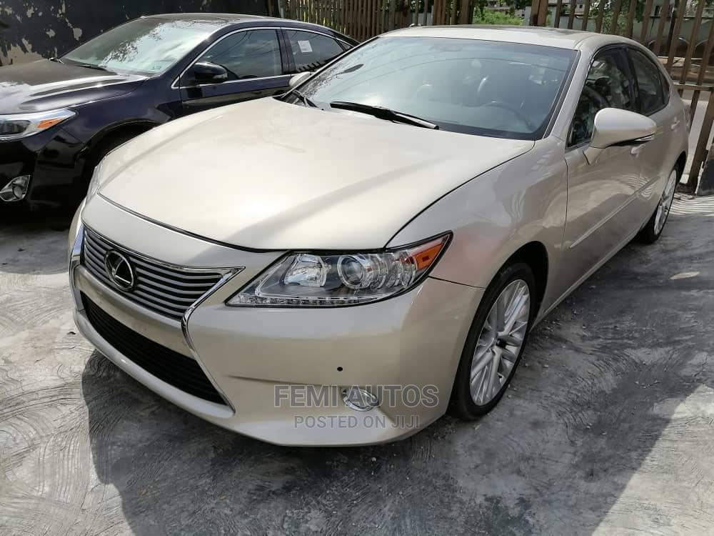 Lexus ES 2013 Gold