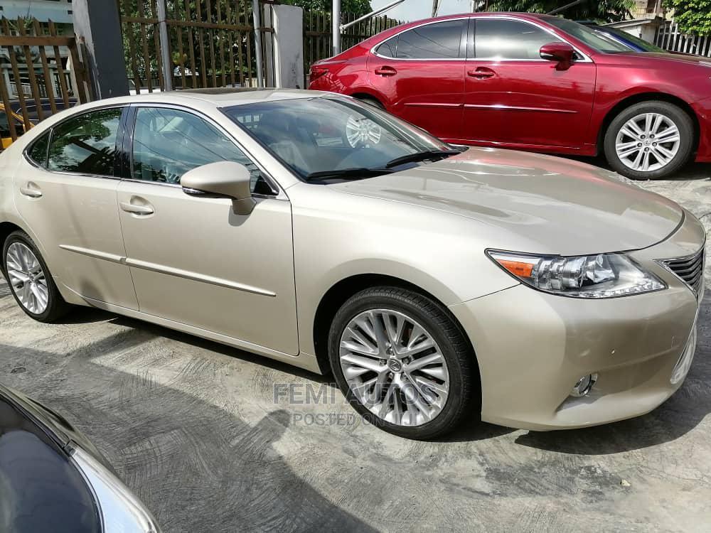 Lexus ES 2013 Gold | Cars for sale in Ikeja, Lagos State, Nigeria