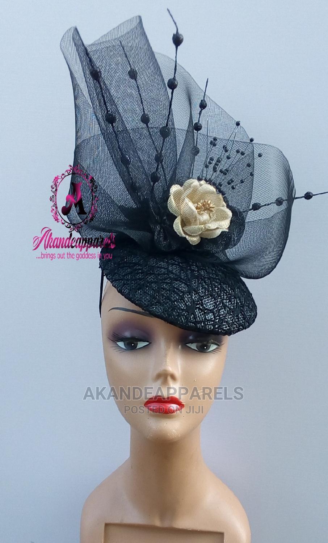 Black Beautiful Fascinator | Clothing Accessories for sale in Ikorodu, Lagos State, Nigeria