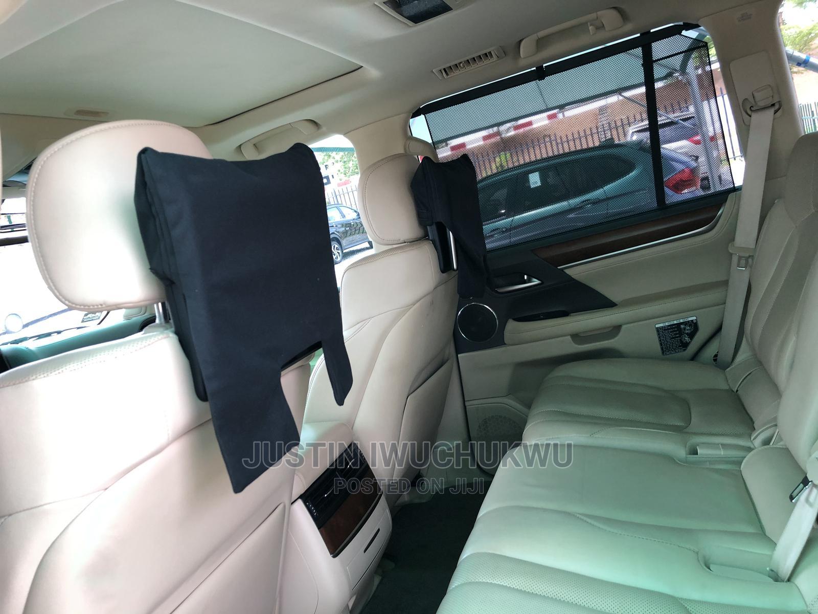 Lexus LX 2017 570 Base Black | Cars for sale in Jahi, Abuja (FCT) State, Nigeria