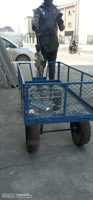 1000kg Folding Motor Hand Truck Trolley | Store Equipment for sale in Lagos State, Ikeja