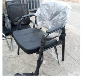 Leather Visitor's Chair   Furniture for sale in Lagos State, Badagry