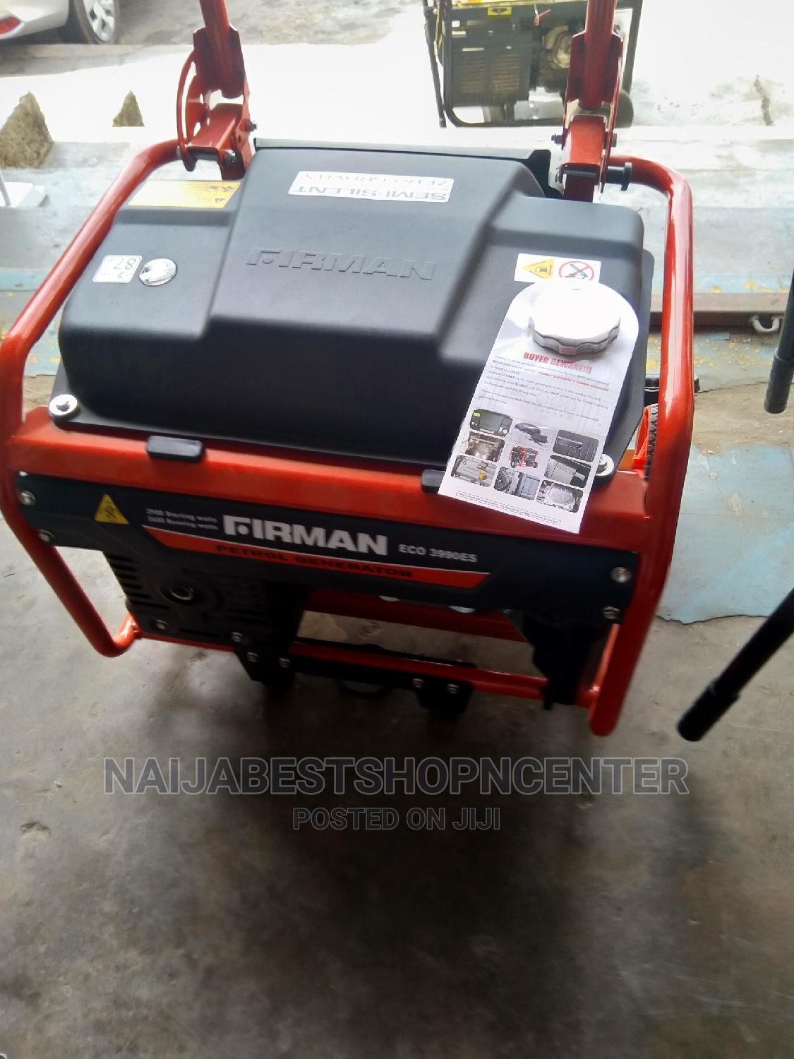 Sumec Firman Eco-Friendly Generator | Home Accessories for sale in Ikeja, Lagos State, Nigeria