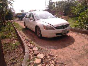 Honda Accord 2005 Sedan LX V6 Automatic White | Cars for sale in Kwara State, Ilorin West