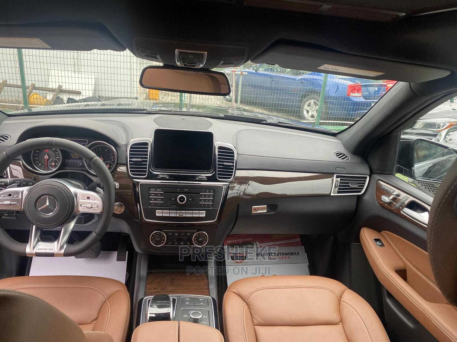 Mercedes-Benz GLS-Class 2017 GLS63 AMG Base Black   Cars for sale in Lekki, Lagos State, Nigeria