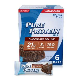 Pure Protein Bars, Chocolate Deluxe, 21g, 1.76 Oz, 6ct   Meals & Drinks for sale in Lagos State, Lekki