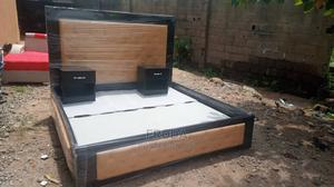 6by6 Feet Bedframe. King's Size Bed With Bedside Drawers   Furniture for sale in Lagos State, Ajah