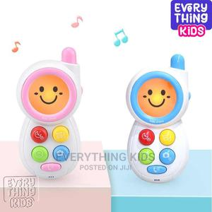 Smile Musical Phone Kids Toys Electronic Baby Rattles Mini | Toys for sale in Lagos State, Ikeja