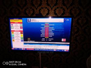 55 Inches Plasma Tv and Dvd and 4 Standing Speakers | TV & DVD Equipment for sale in Lagos State, Ajah