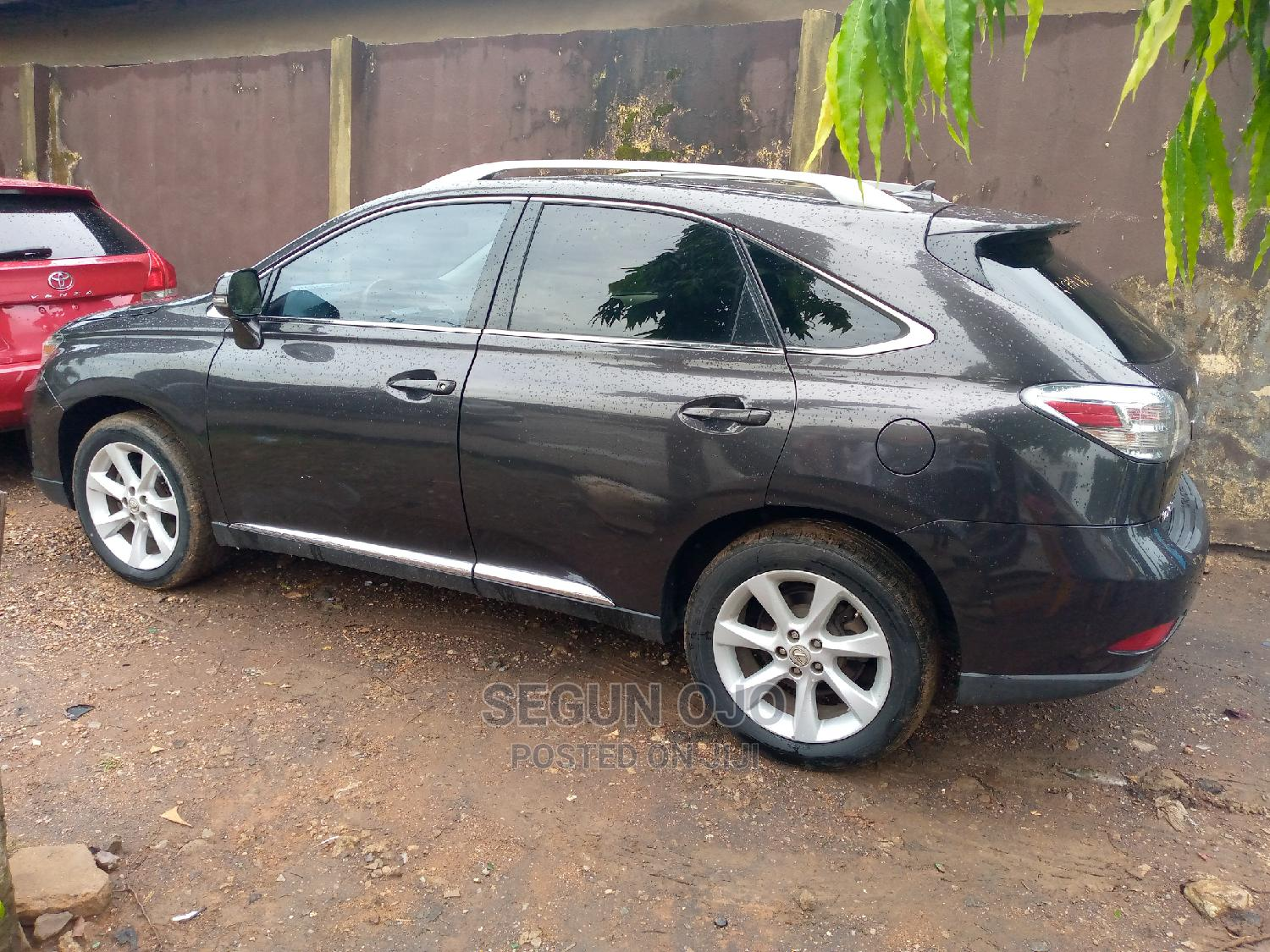 Lexus RX 2010 350 Gray   Cars for sale in Ikeja, Lagos State, Nigeria