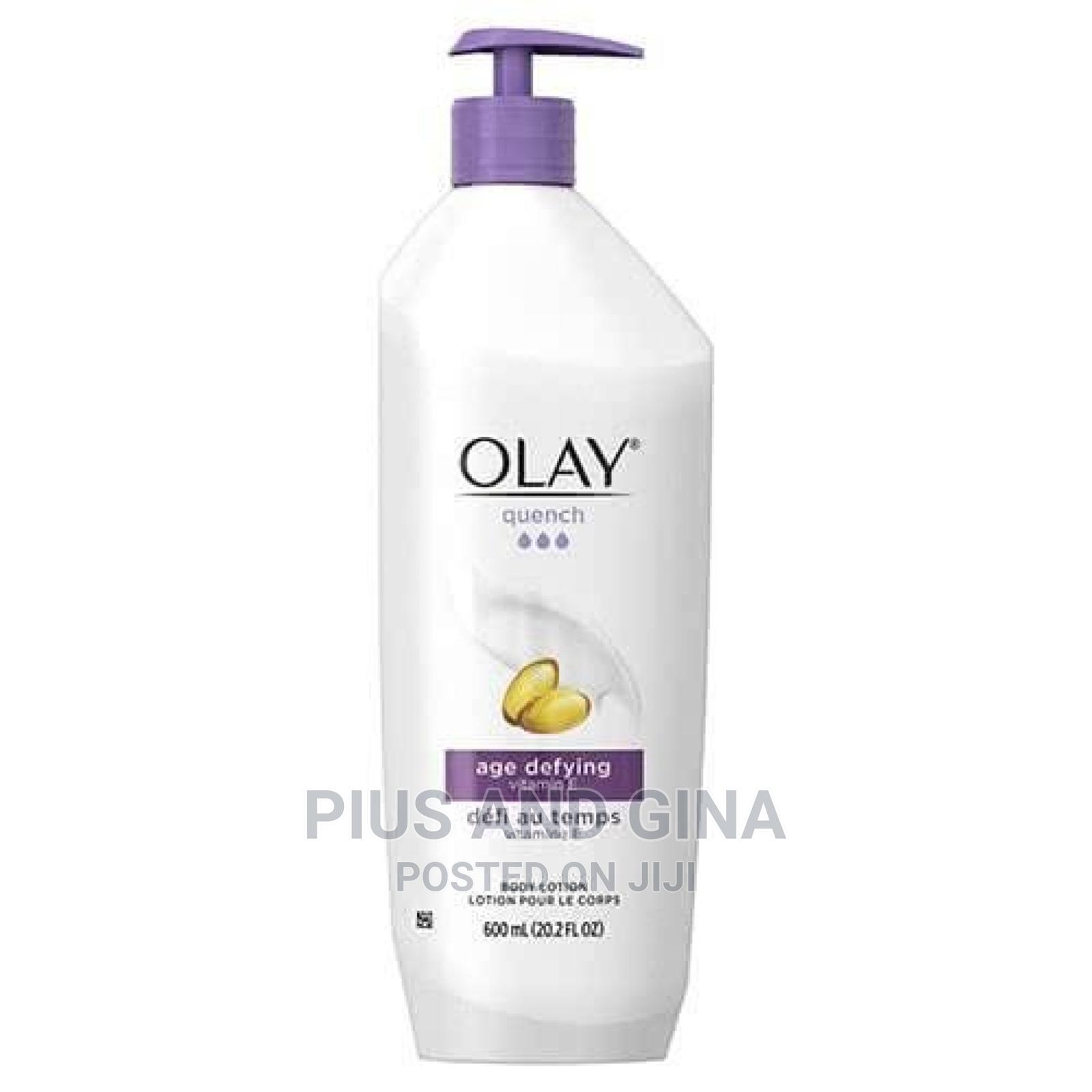 Olay Quench Age Defying Body Lotion With Vitamin E- 600ml(LA
