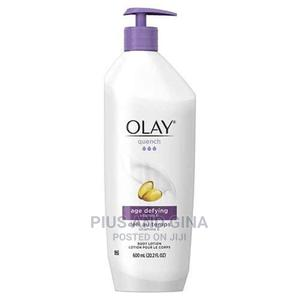 Olay Quench Age Defying Body Lotion With Vitamin E- 600ml(LA   Bath & Body for sale in Lagos State, Agege