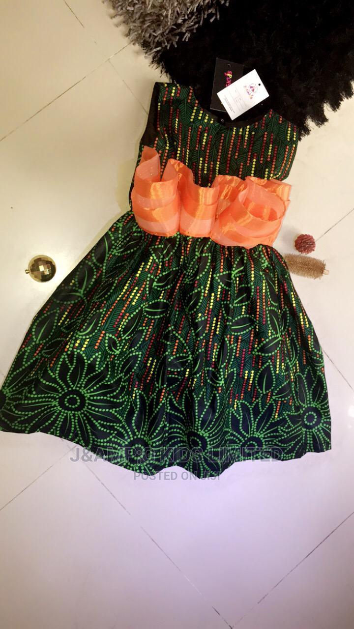 Short Ankara Dress