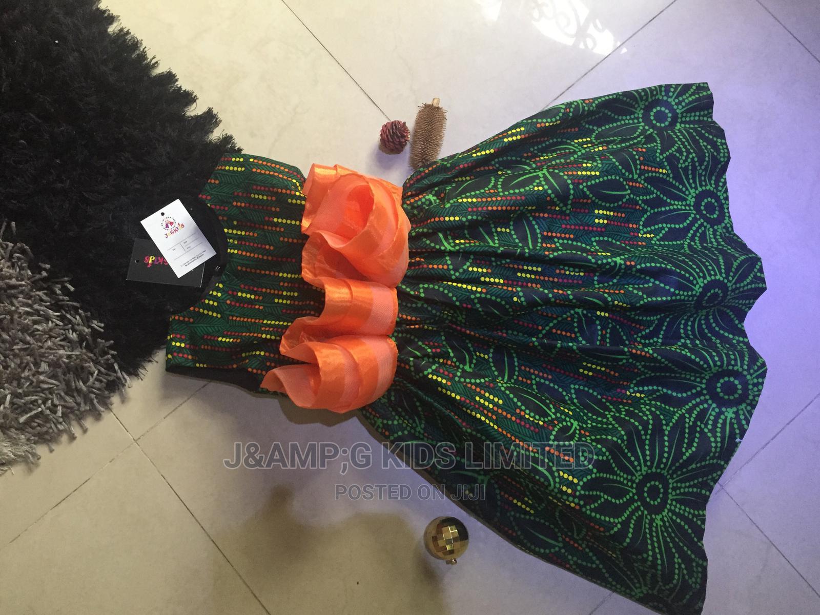 Short Ankara Dress | Children's Clothing for sale in Lekki, Lagos State, Nigeria