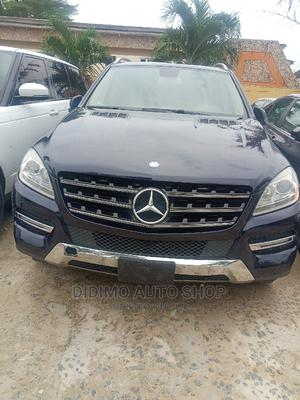 Mercedes-Benz M Class 2012 ML 350 4Matic Blue | Cars for sale in Lagos State, Ajah