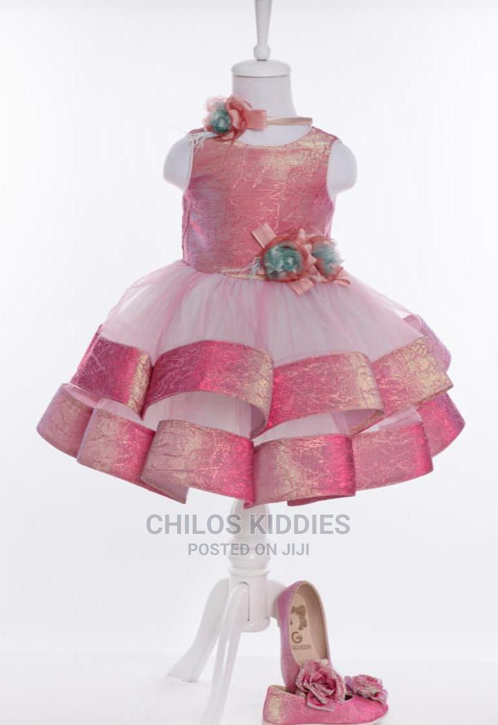 Girls Turkey Gown With Shoes
