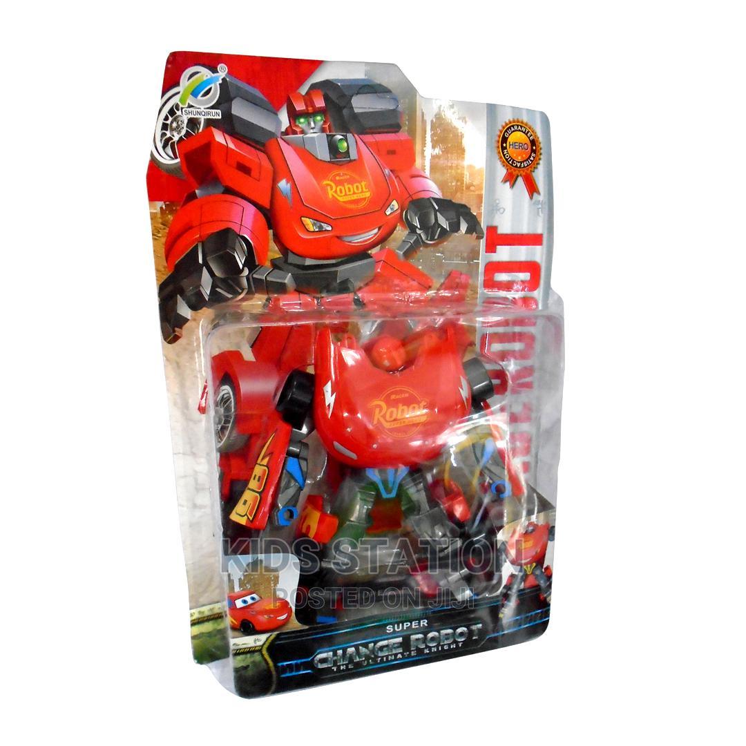 Small Mc Queens Transformer Robot