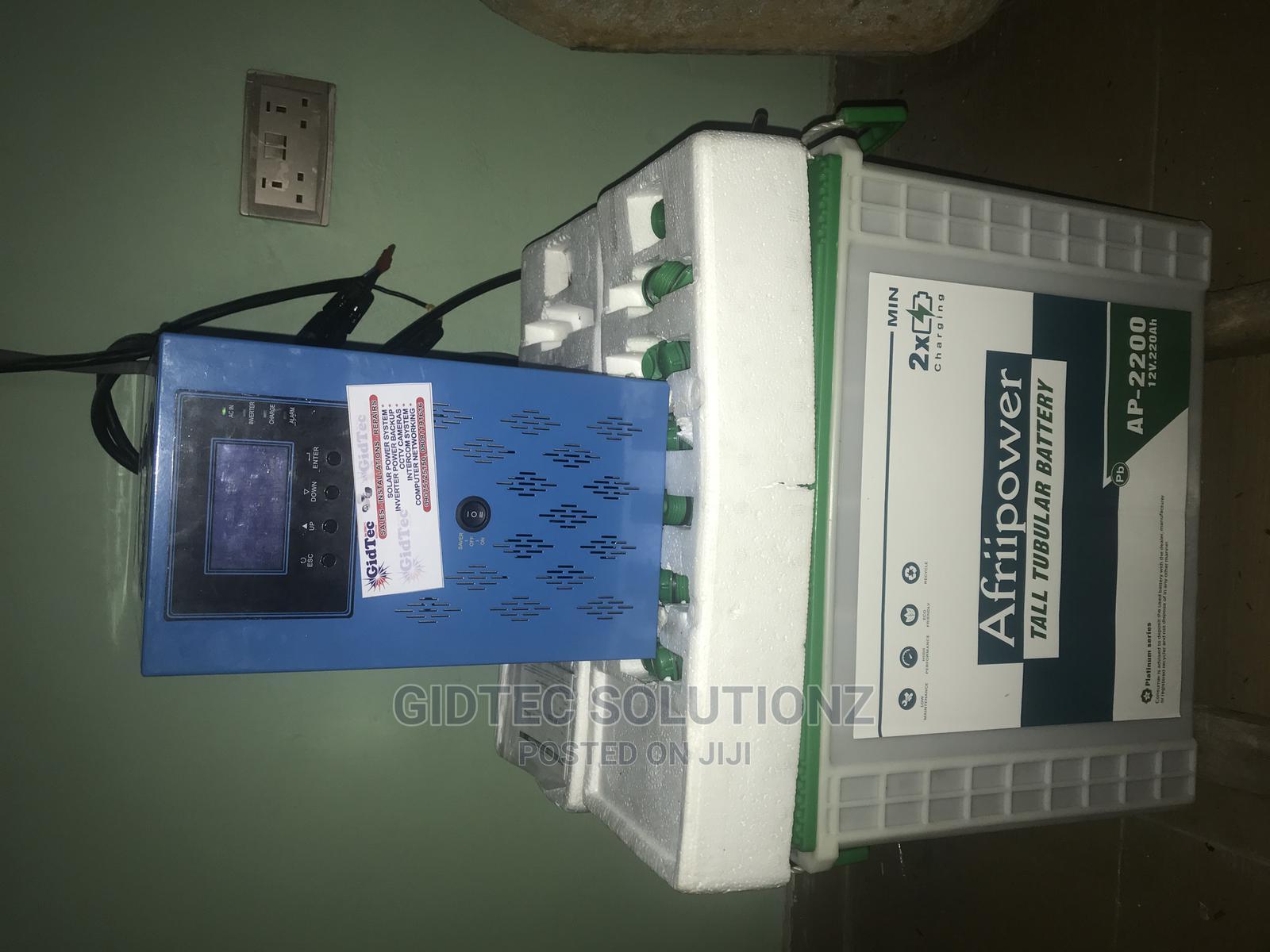 3.5KVA Inverter With Solar. | Solar Energy for sale in Ikorodu, Lagos State, Nigeria