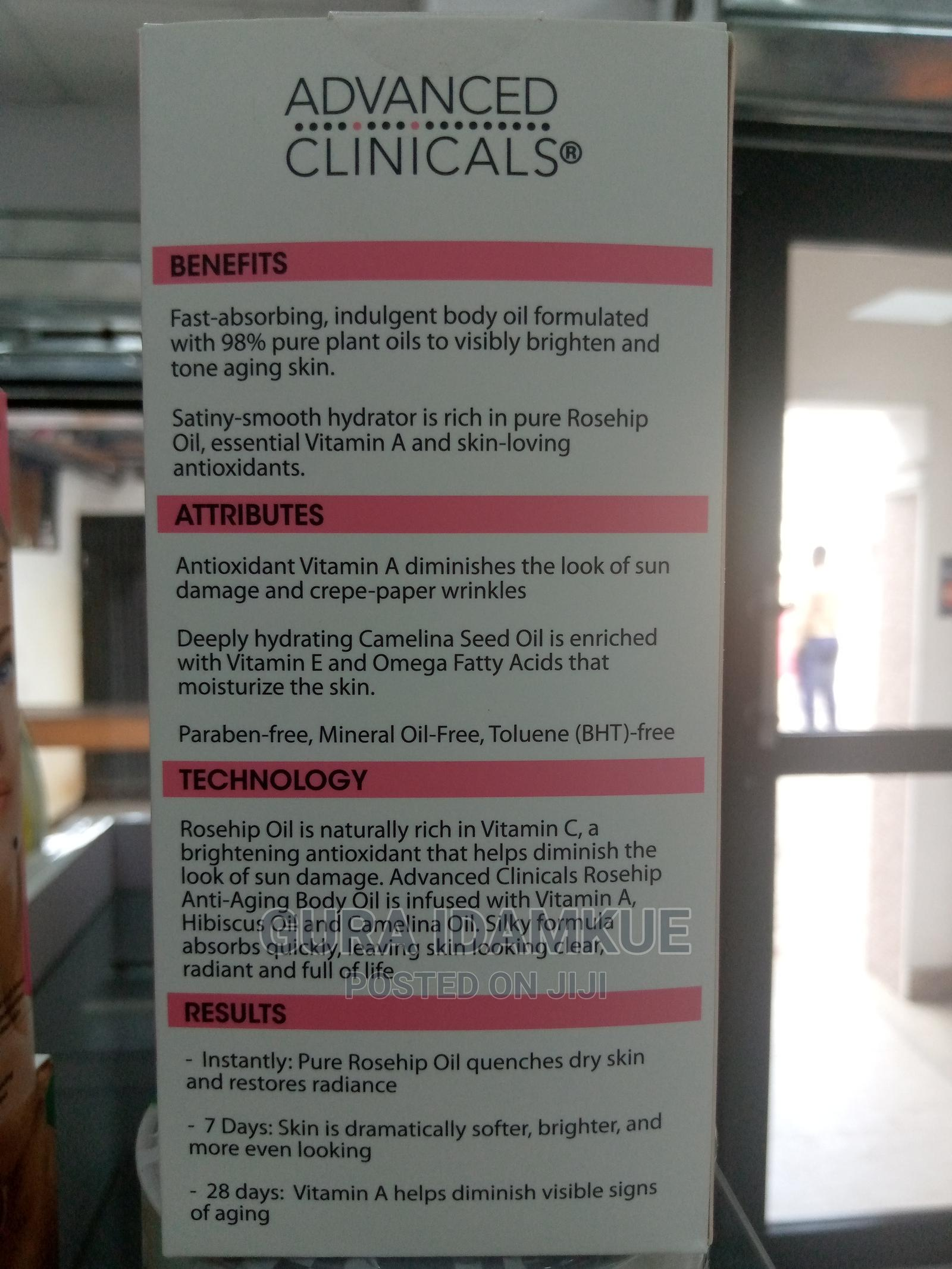 Archive: Advanced Clinicals Rosehip Anti-Aging Body Oil