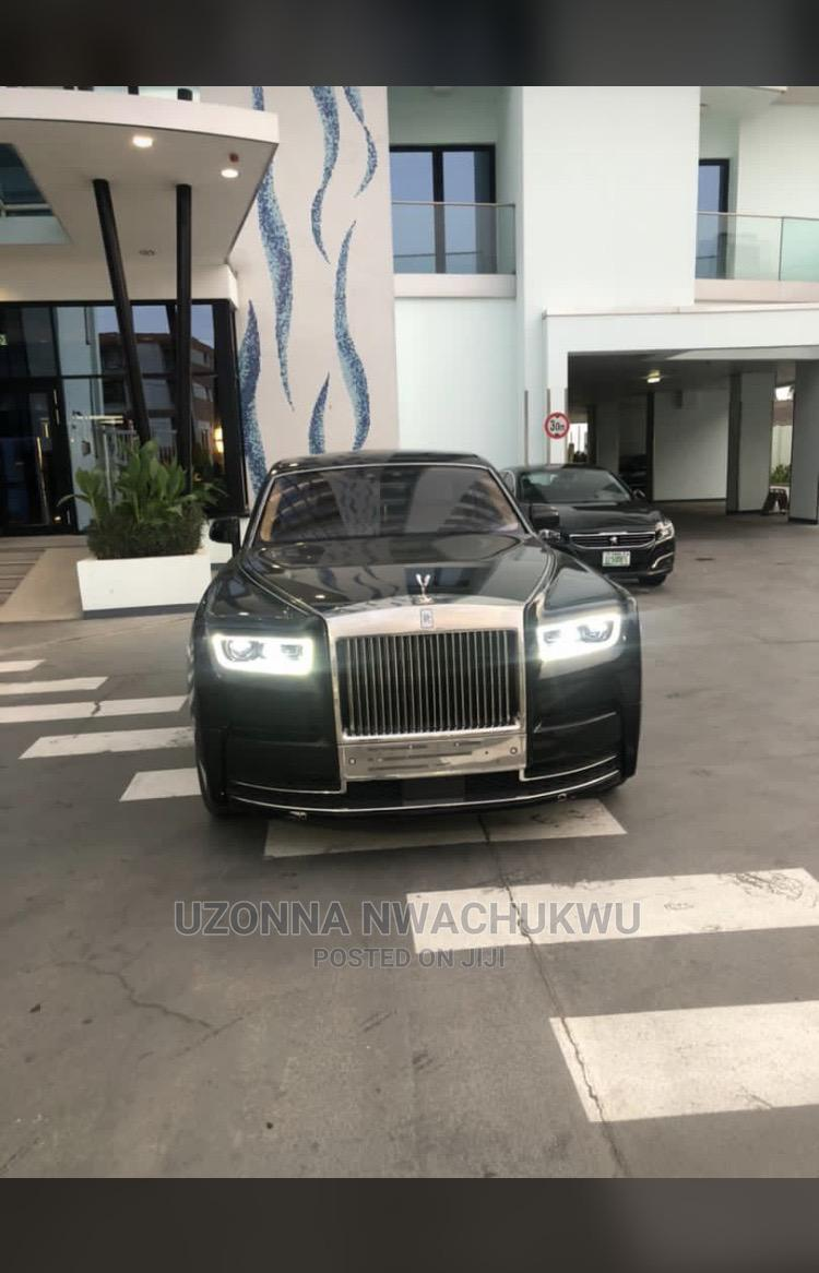 Rolls-Royce Phantom 2018 Black