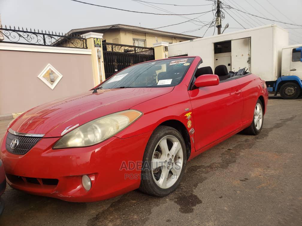 Archive: Toyota Solara 2005 Red