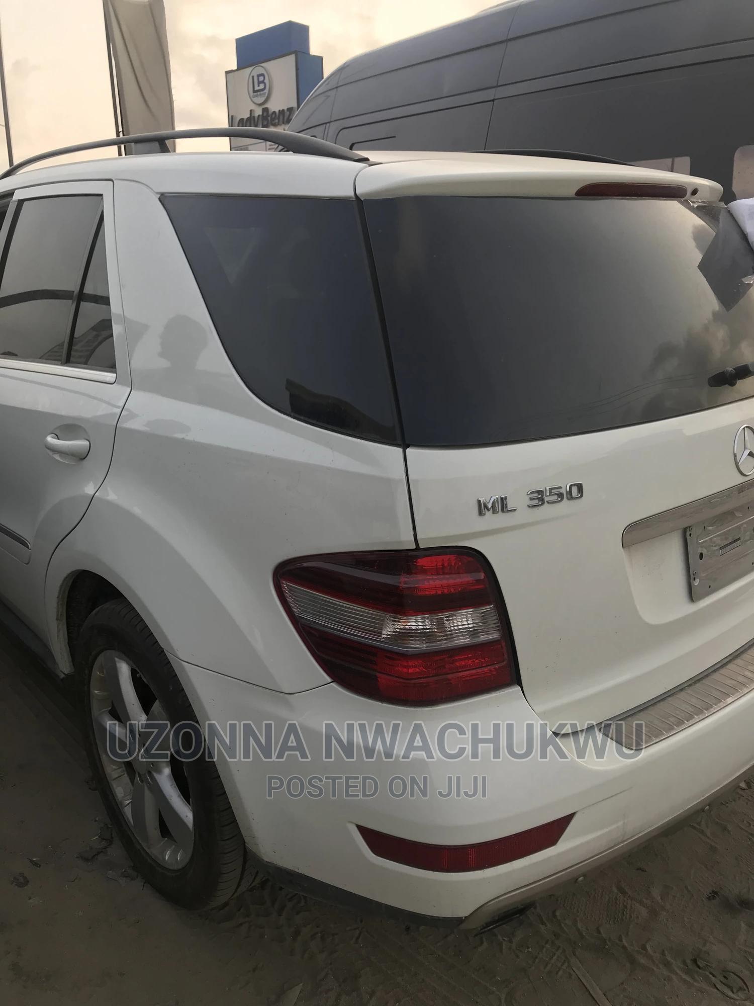 Mercedes-Benz M Class 2010 ML 350 4Matic White | Cars for sale in Ibeju, Lagos State, Nigeria