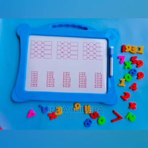 Marker Board With Marker Magnetic Numbers   Toys for sale in Lagos State, Ikeja