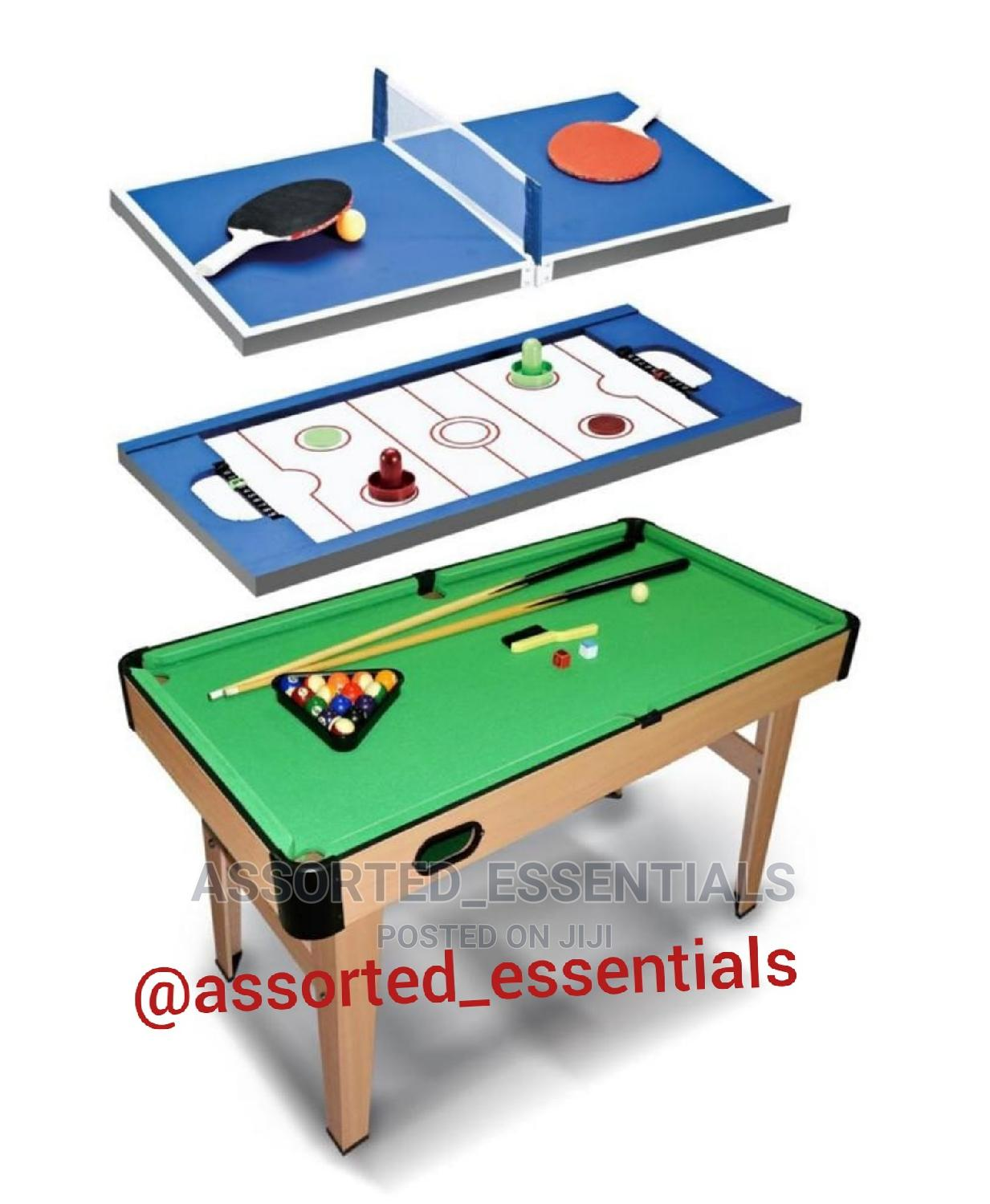 3 in 1 Pool Table   Sports Equipment for sale in Ajah, Lagos State, Nigeria