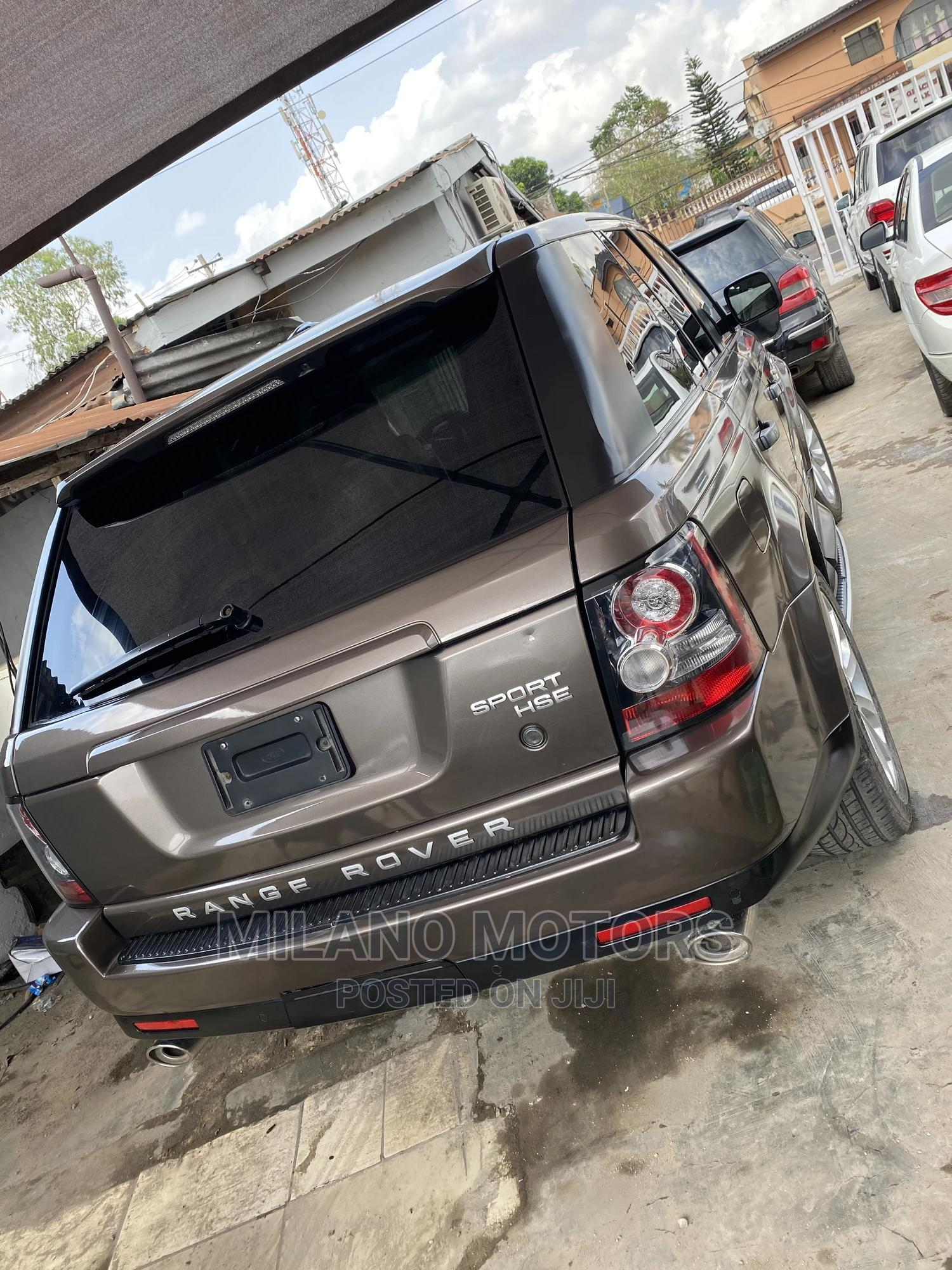 Land Rover Range Rover Sport 2012 HSE LUX Brown | Cars for sale in Ikeja, Lagos State, Nigeria