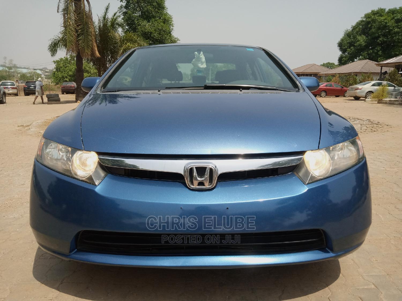 Honda Civic 2007 1.8 Sedan EX Automatic Blue