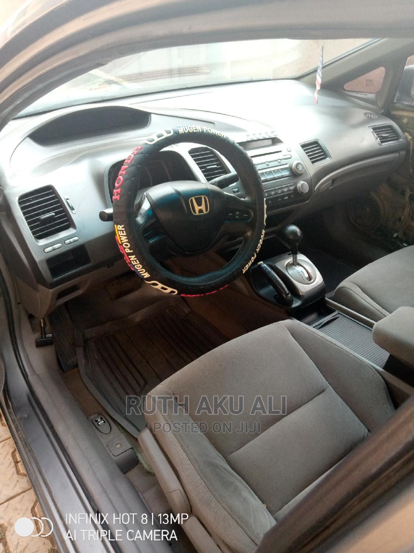 Archive: Honda Civic 2008 1.8 EX Automatic Gray