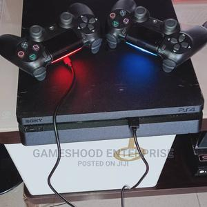 Ps4 Slim Console +2 Pads and Other Accessories   Video Game Consoles for sale in Anambra State, Awka