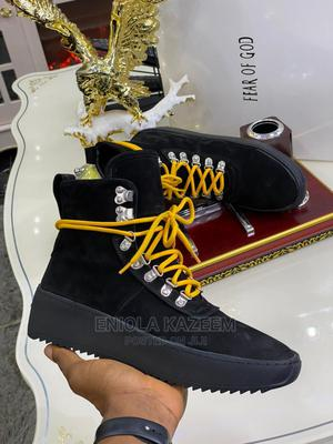 Original Designer Suede Leather Ankle Sneakers Fear or God | Shoes for sale in Lagos State, Lagos Island (Eko)