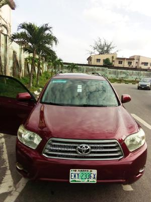 Toyota Highlander 2009 Red | Cars for sale in Lagos State, Ikeja