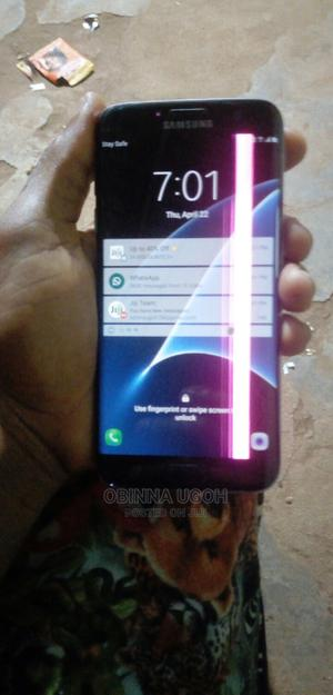 Samsung Galaxy S7 edge 32 GB Black   Mobile Phones for sale in Imo State, Owerri