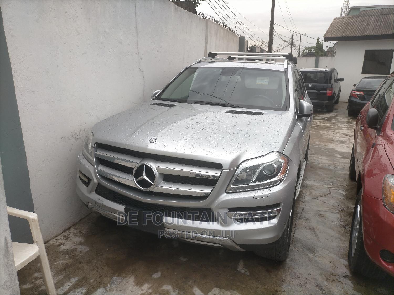 Mercedes-Benz GL Class 2014 Silver