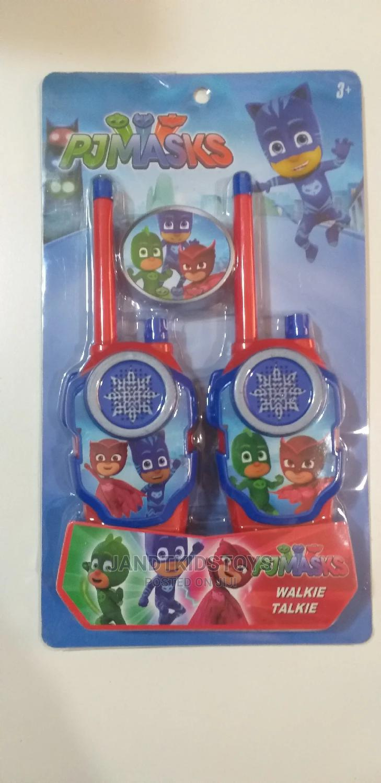 PJ Mask Walkie Talkie Toy