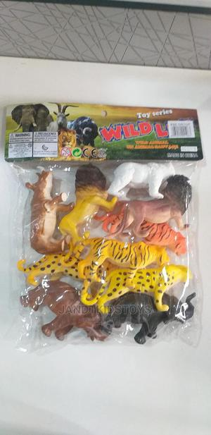 10 Piece Wild Life Animal Model Pack | Toys for sale in Abuja (FCT) State, Gwarinpa
