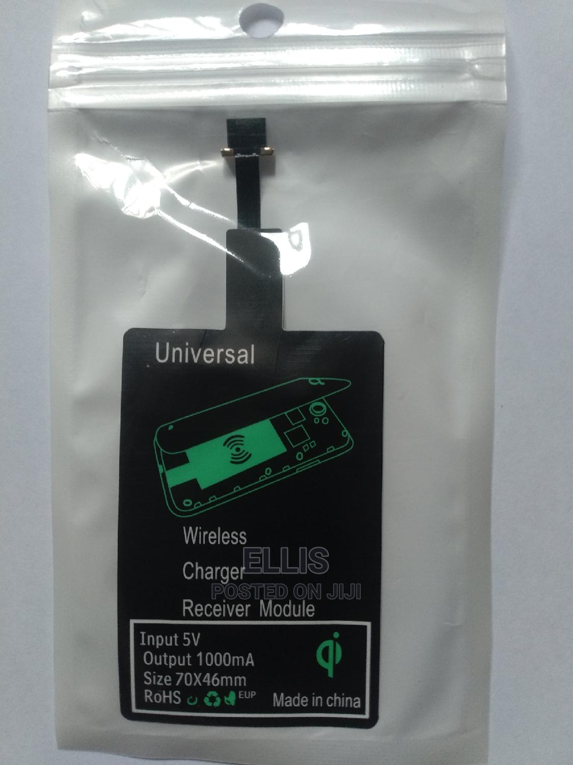 Wireless Charger Adapter for iPhone and Android.   Accessories for Mobile Phones & Tablets for sale in Port-Harcourt, Rivers State, Nigeria