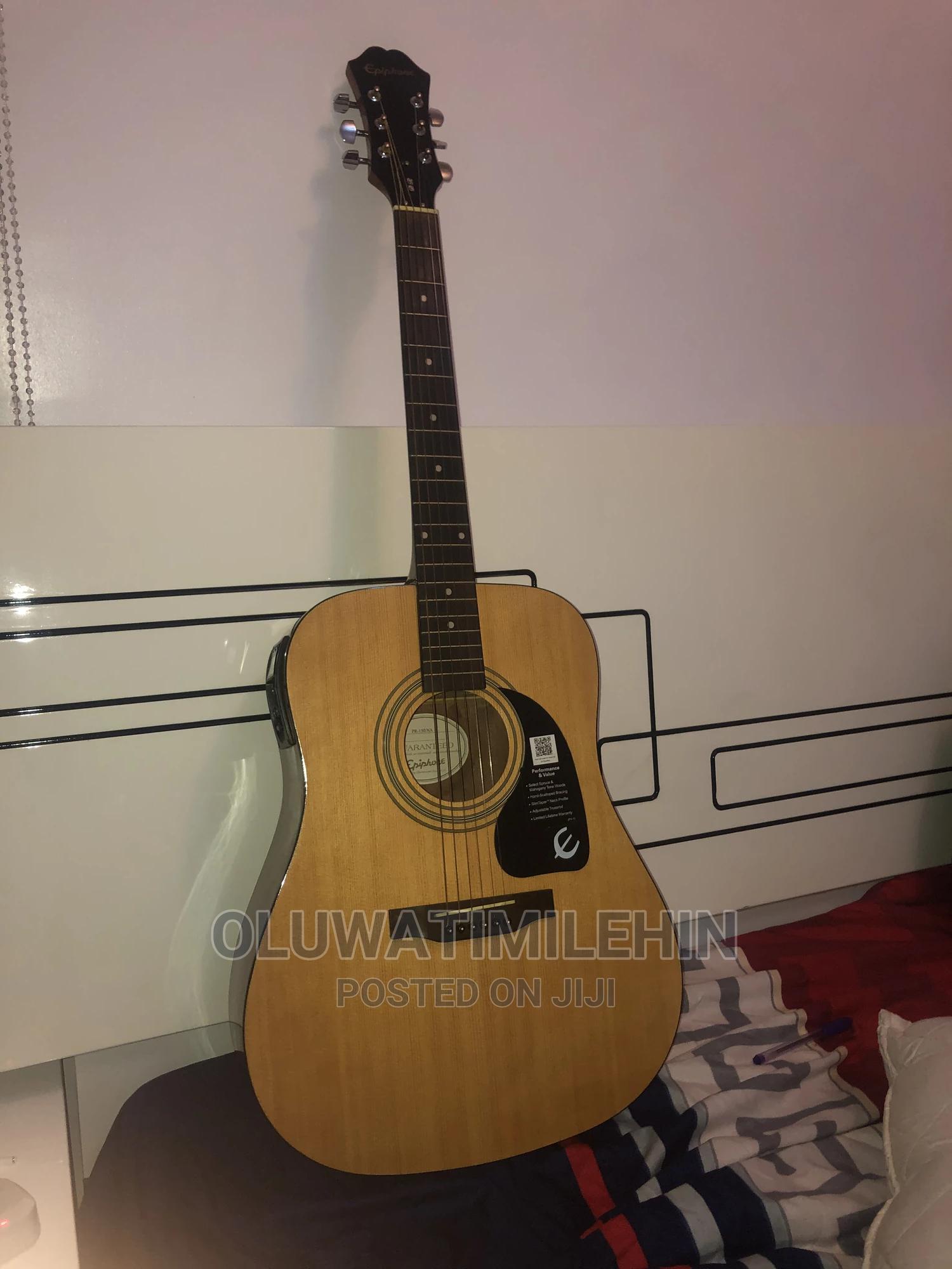 Archive: Ephiphone Professional Semi-electric Acoustic Guitar 4 Sale
