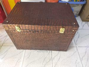 Extra Large Gift Truck Wooden Box With Leather Finish | Arts & Crafts for sale in Lagos State, Surulere