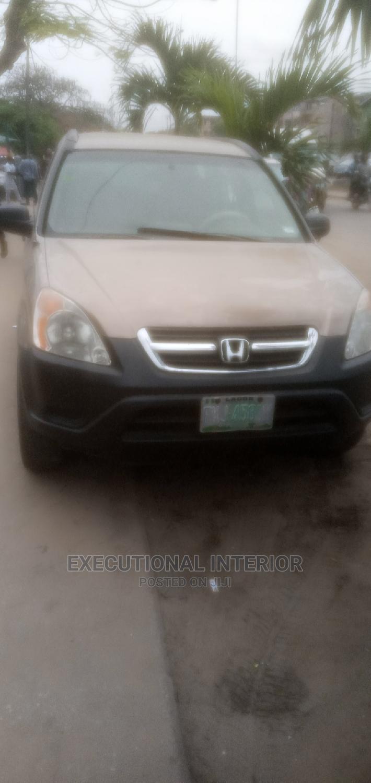 Honda CR-V 2002 2.0i ES Automatic Gold