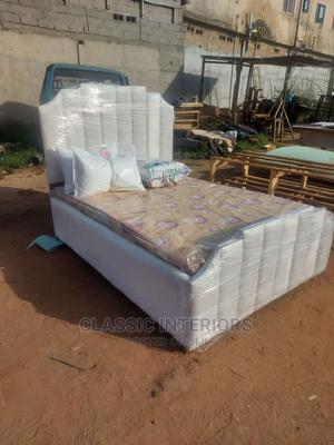 4.5ft by 6ft Bedframe   Furniture for sale in Lagos State, Lekki