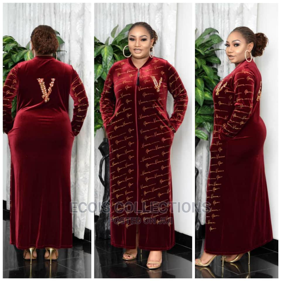 Archive: Beautiful Turkey Suede Long Dress