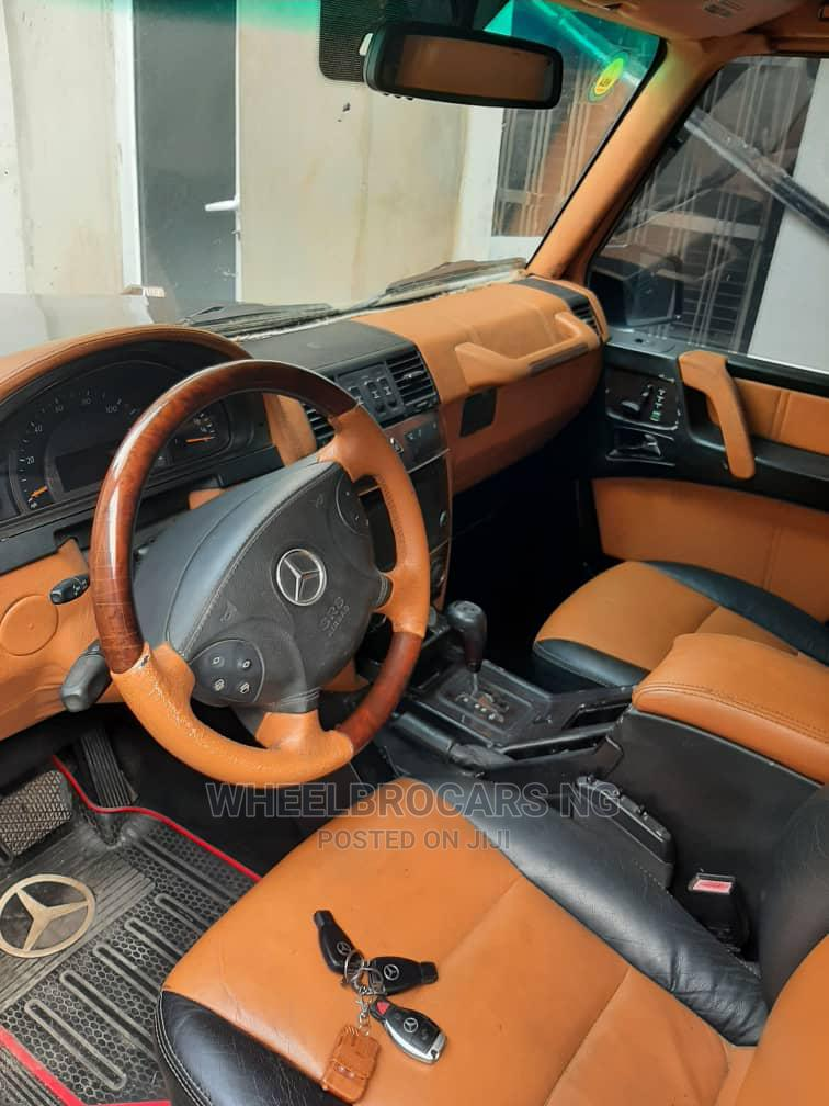 Mercedes-Benz G-Class 2004 Base G 500 AWD Black | Cars for sale in Ajah, Lagos State, Nigeria