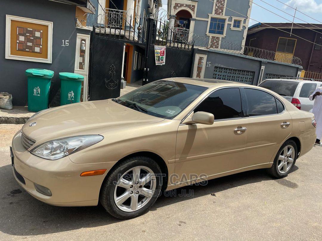 Archive: Lexus ES 2003 330 Gold
