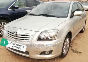 Toyota Avensis 2007 Silver   Cars for sale in Abuja (FCT) State, Gwagwalada